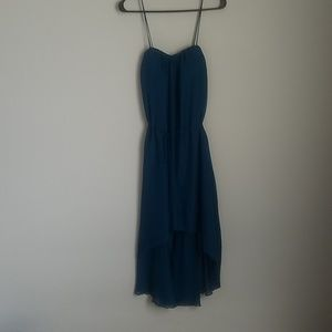 NWT, Waterfall dress with straps